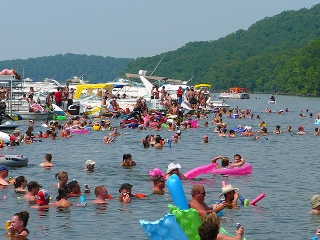 Party Cove photo people partying