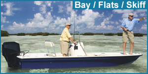 Bay, Flats or Skiff boats for sale